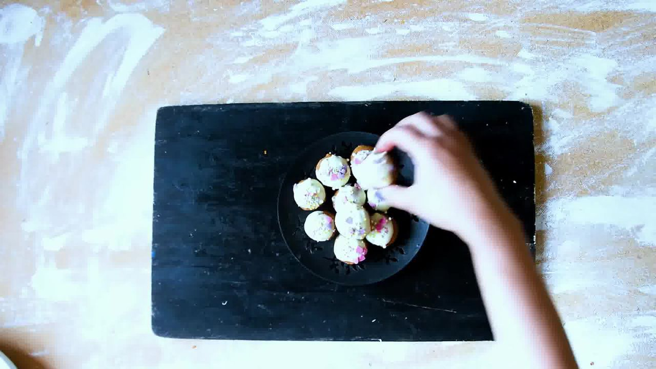 Image of the cooking step-1-11 for Gingerbread Truffles Recipe