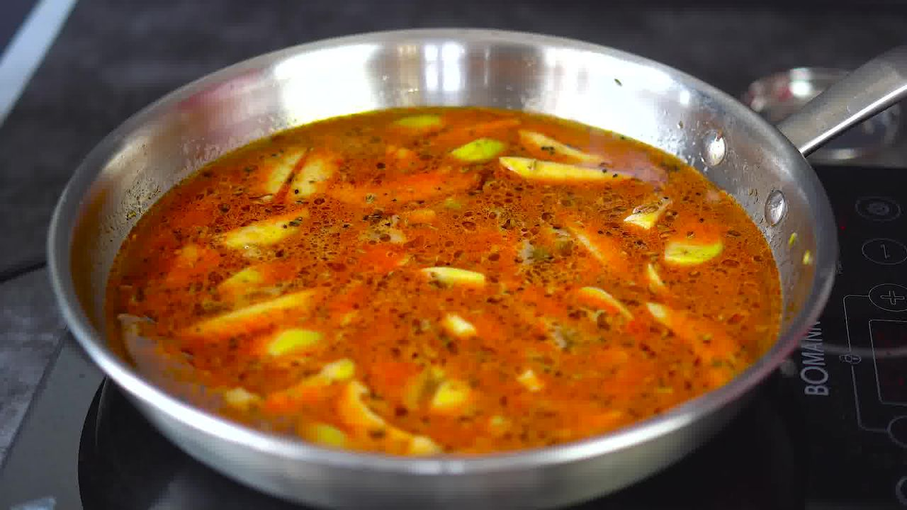 Image of the cooking step-1-11 for Aam Ki Launji | Sweet and Spicy Raw Mango Chutney