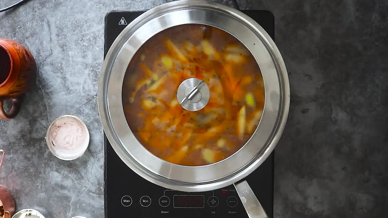 Image of the cooking step-1-12 for Aam Ki Launji | Sweet and Spicy Raw Mango Chutney