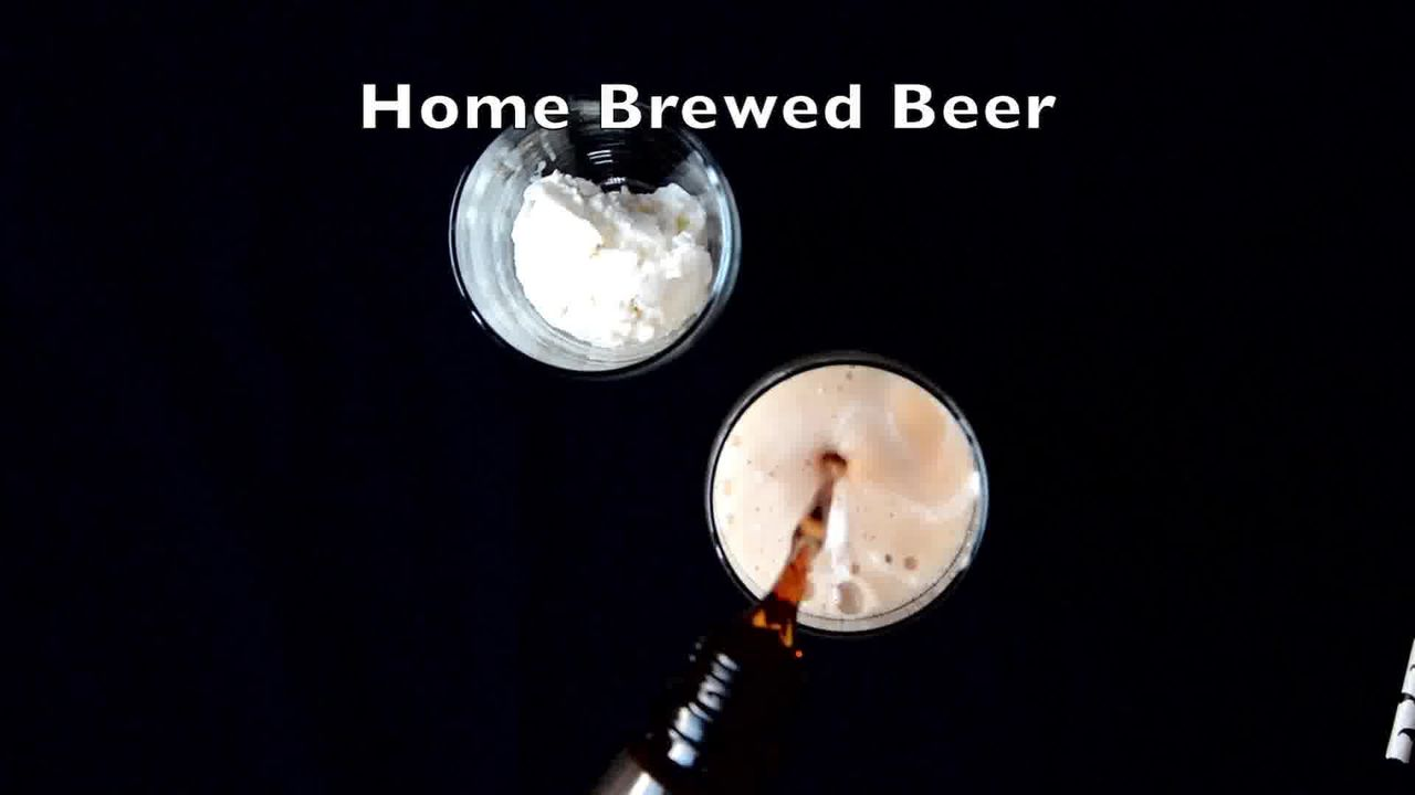 Image of the cooking step-1-2 for Adult Beer Float - Video Recipe