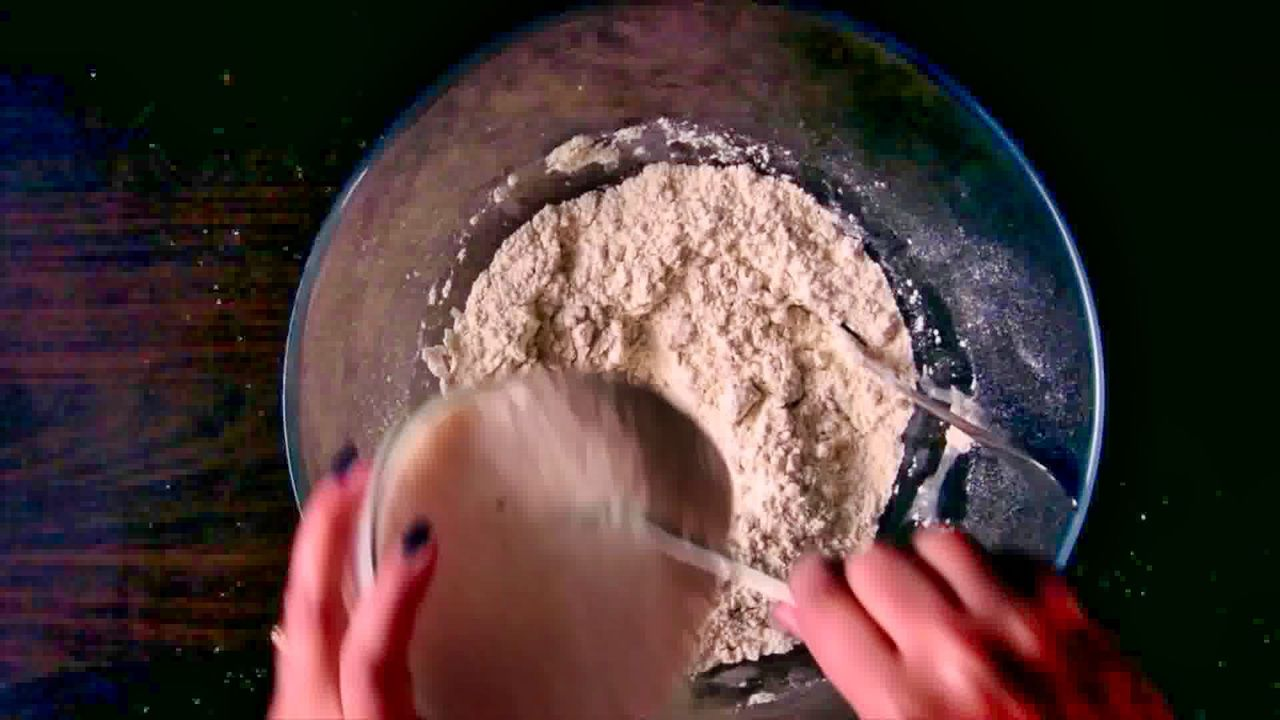 Image of the cooking step-1-3 for Afghan Naan Bread Recipe - Naan-e-Afghani (Video)