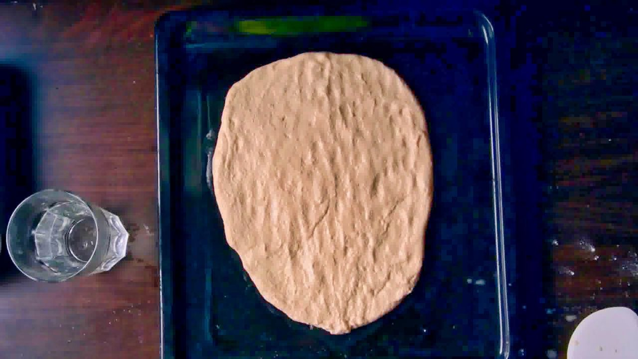 Image of the cooking step-2-5 for Afghan Naan Bread Recipe - Naan-e-Afghani (Video)