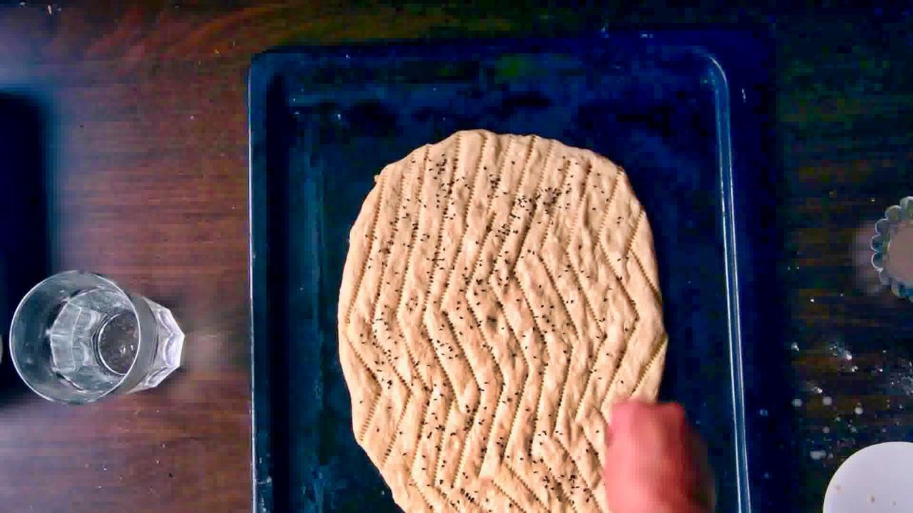 Image of the cooking step-2-7 for Afghan Naan Bread Recipe - Naan-e-Afghani (Video)
