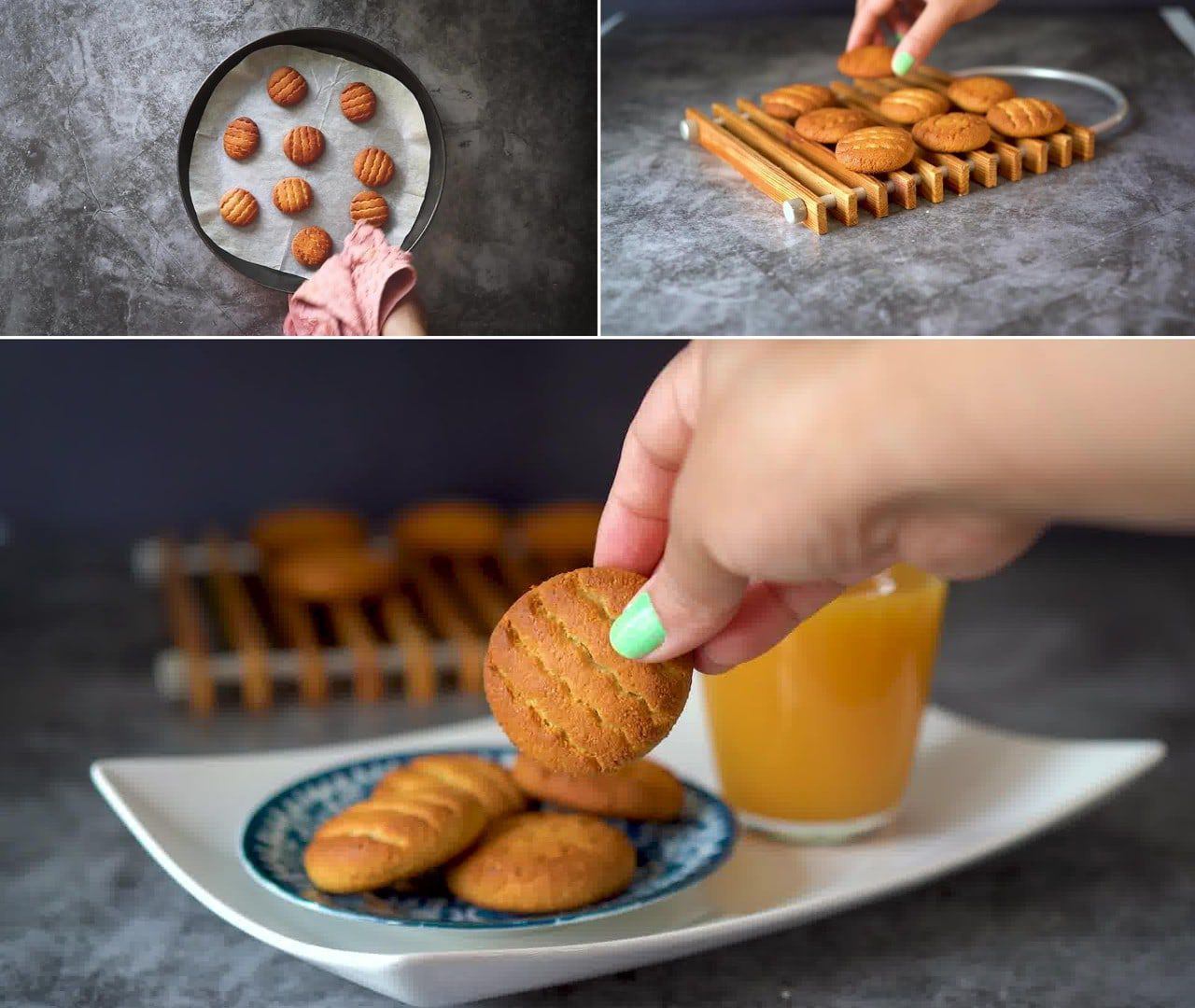 Image of the cooking step-1-10 for 3 Ingredient Almond Flour Cookies