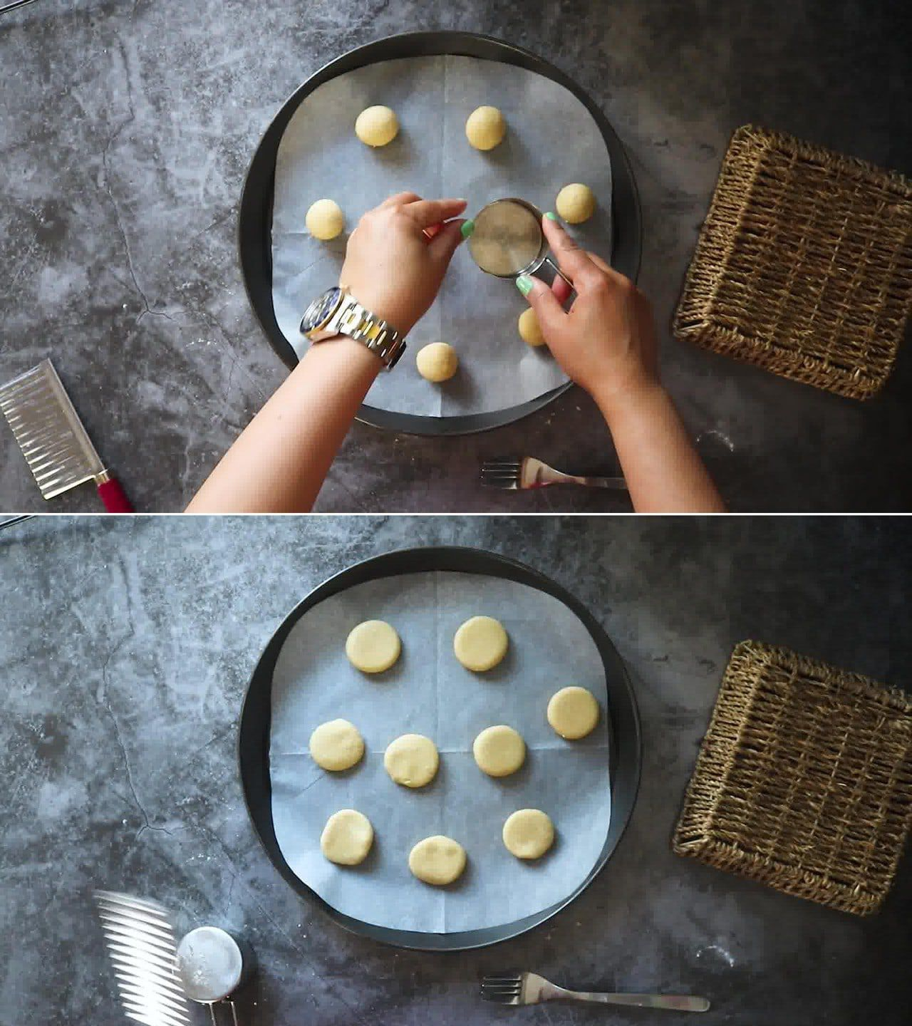 Image of the cooking step-1-7 for 3 Ingredient Almond Flour Cookies