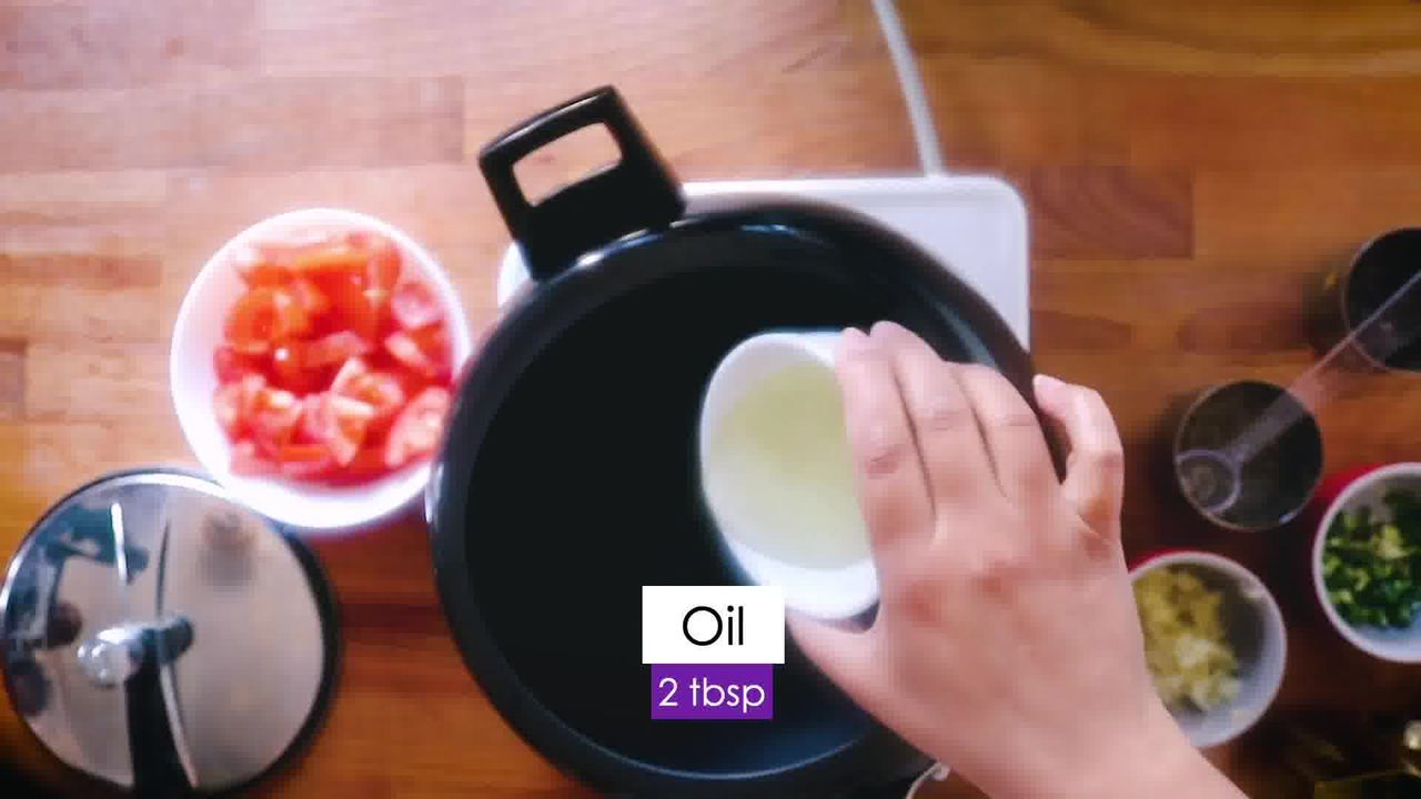 Image of the cooking step-1-1 for Aloo Baingan - Potato Eggplant (Cooker + Instant Pot)