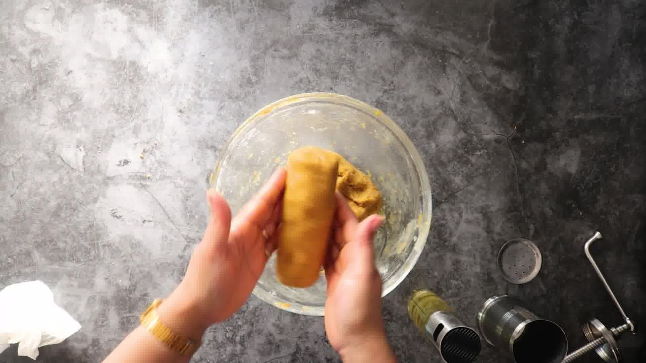 Image of the cooking step-1-9 for Aloo Bhujia - Aloo Sev (Crispy Potato Snack)
