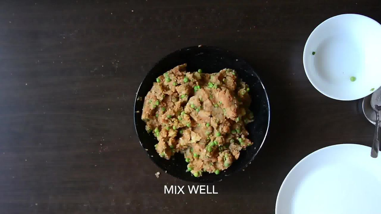 Image of the cooking step-1-2 for Aloo Tikki Burger Recipe