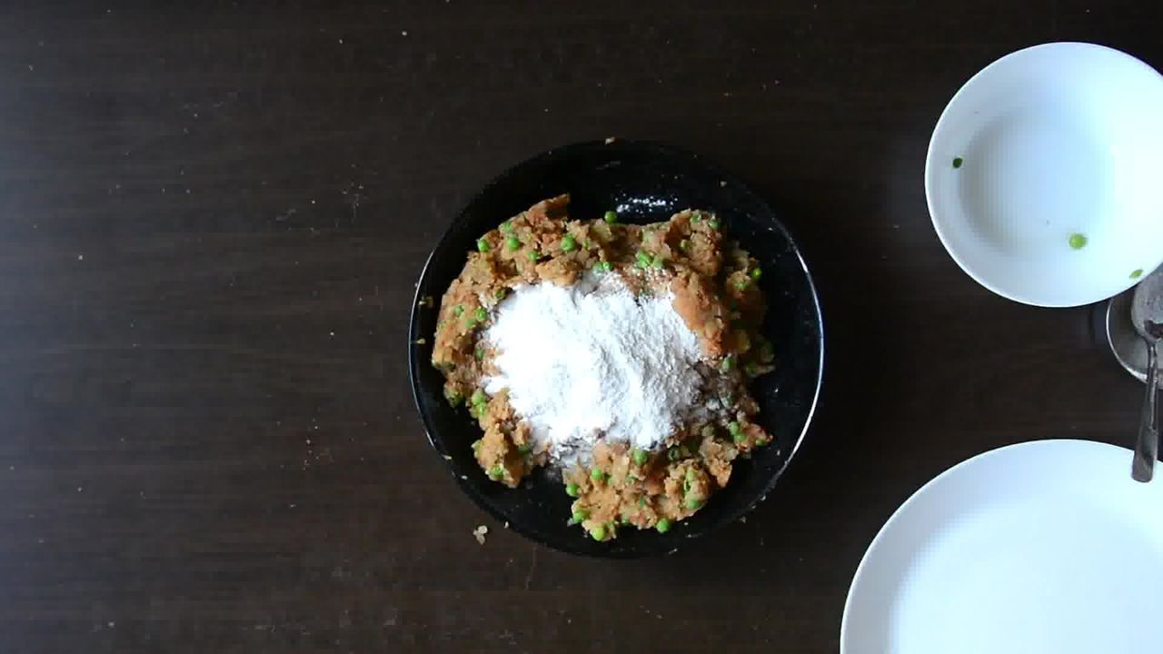 Image of the cooking step-1-3 for Aloo Tikki Burger Recipe