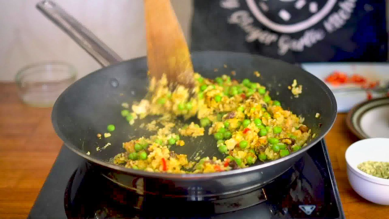 Image of the cooking step-1-12 for Aloo Tikki Chaat