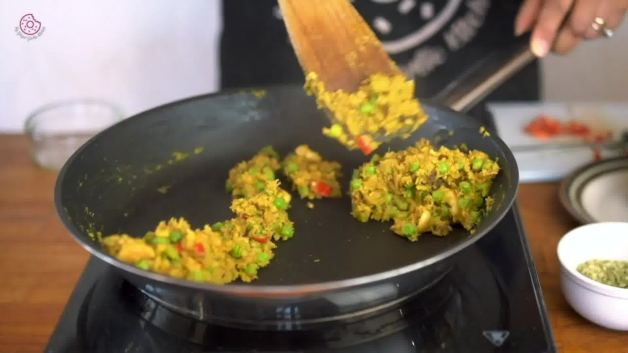 Image of the cooking step-1-14 for Crispy Aloo Tikki - Spicy Potato Patty