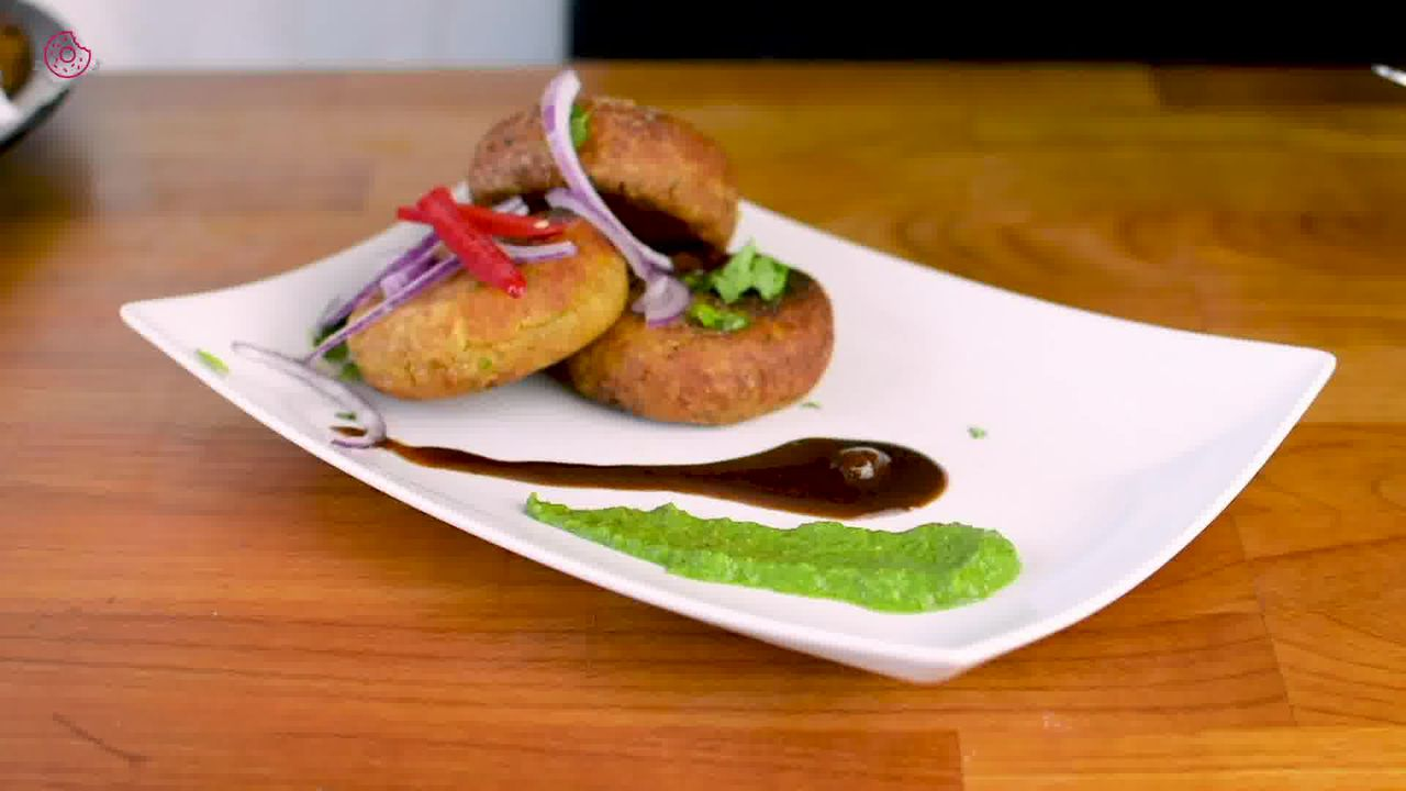 Image of the cooking step-5-5 for Crispy Aloo Tikki - Spicy Potato Patty