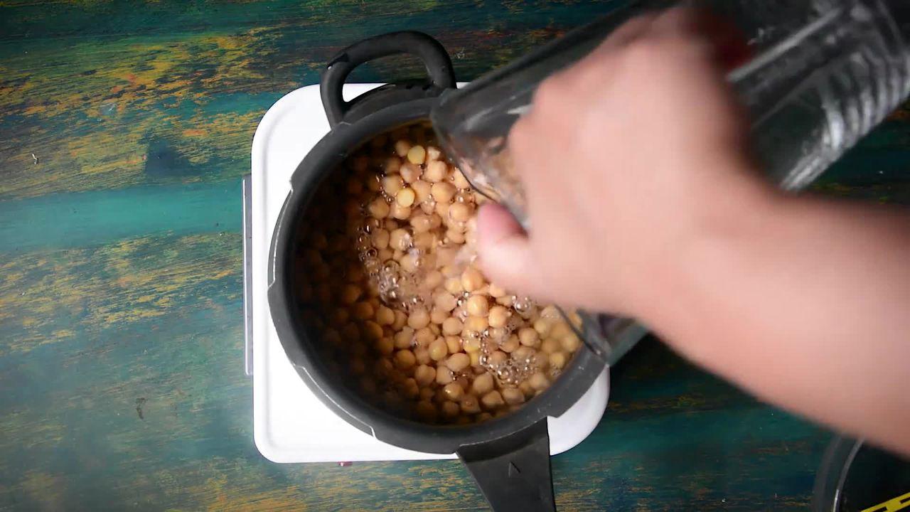 Image of the cooking step-1-2 for Amritsari Chole - Authentic Punjabi Chole Masala Recipe