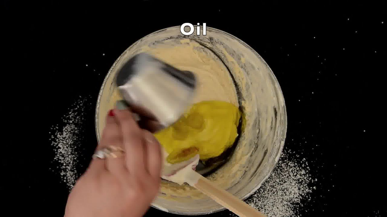 Image of the cooking step-1-9 for Banana Pineapple Upside Down Cake - Video Recipe