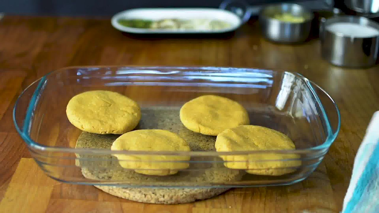Image of the cooking step-3-3 for Rajasthani Besan Churma - Chickpea Flour Indian Dessert