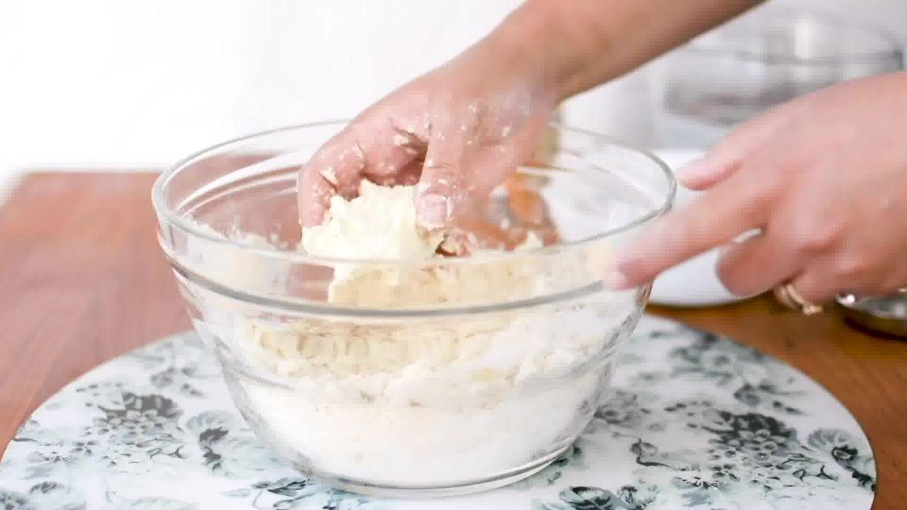 Image of the cooking step-1-4 for Bhakarwadi Recipe - How to make Crispy Bhakarwadi