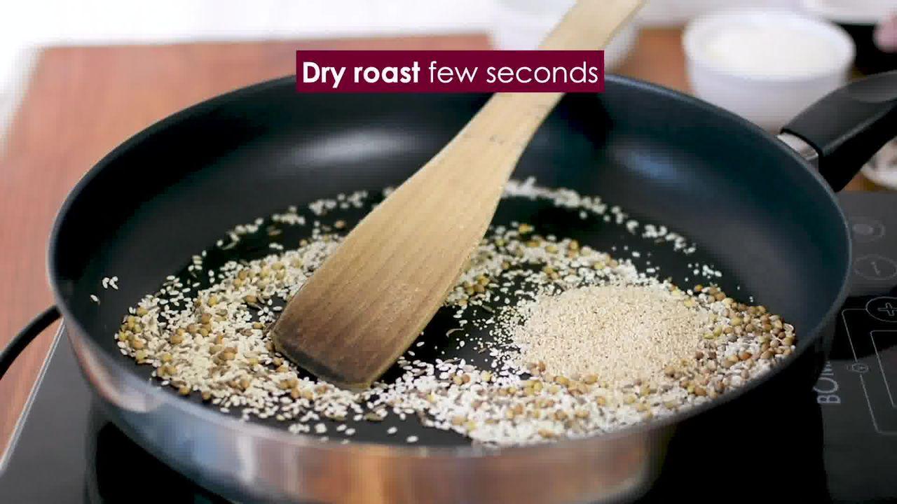 Image of the cooking step-2-5 for Bhakarwadi Recipe - How to make Crispy Bhakarwadi