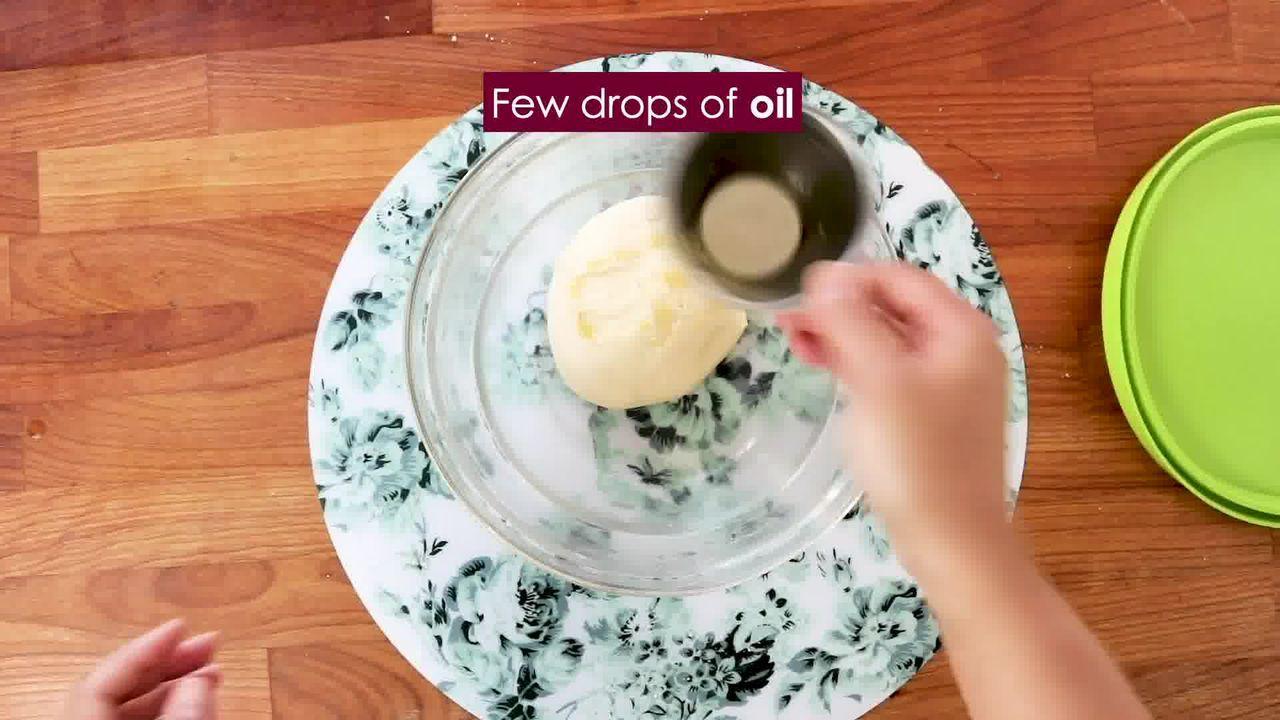 Image of the cooking step-3-1 for Bhakarwadi Recipe - How to make Crispy Bhakarwadi