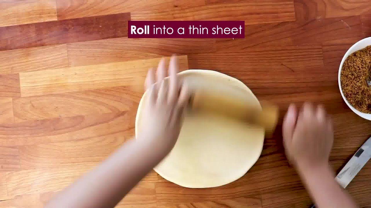 Image of the cooking step-3-4 for Bhakarwadi Recipe - How to make Crispy Bhakarwadi