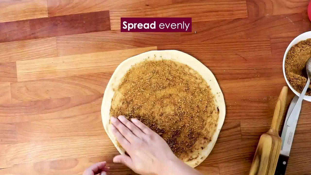 Image of the cooking step-3-8 for Bhakarwadi Recipe - How to make Crispy Bhakarwadi