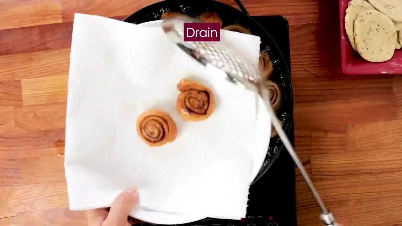 Image of the cooking step-4-4 for Bhakarwadi Recipe - How to make Crispy Bhakarwadi