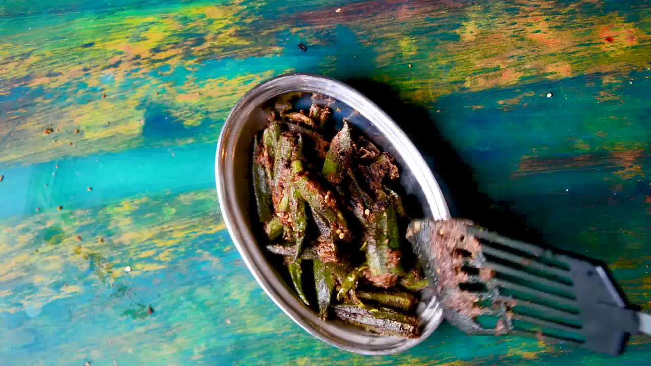 Image of the cooking step-4-1 for Bharwa Bhindi - Stuffed Okra