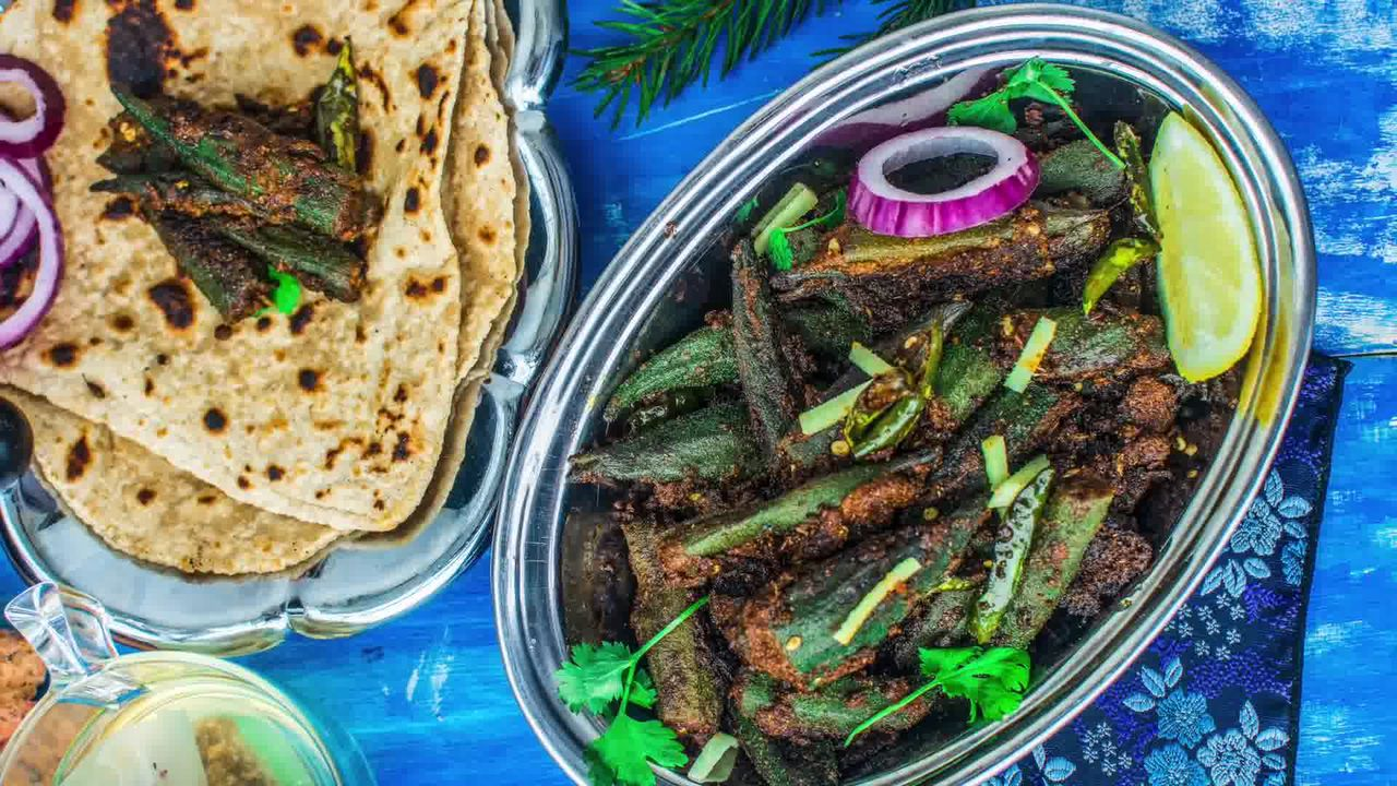 Image of the cooking step-4-3 for Bharwa Bhindi - Stuffed Okra