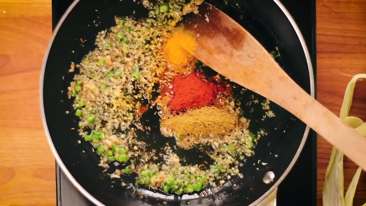 Image of the cooking step-2-5 for Bhutte Ka Kees - Grated Corn Stir Fry