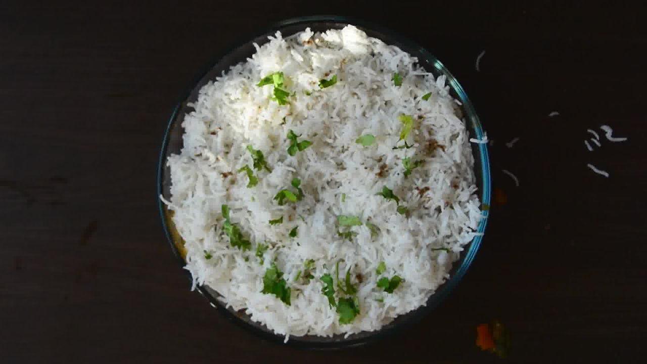 Image of the cooking step-1-15 for Lobia Briyani - Black Eyed Bean Carrot Biryani