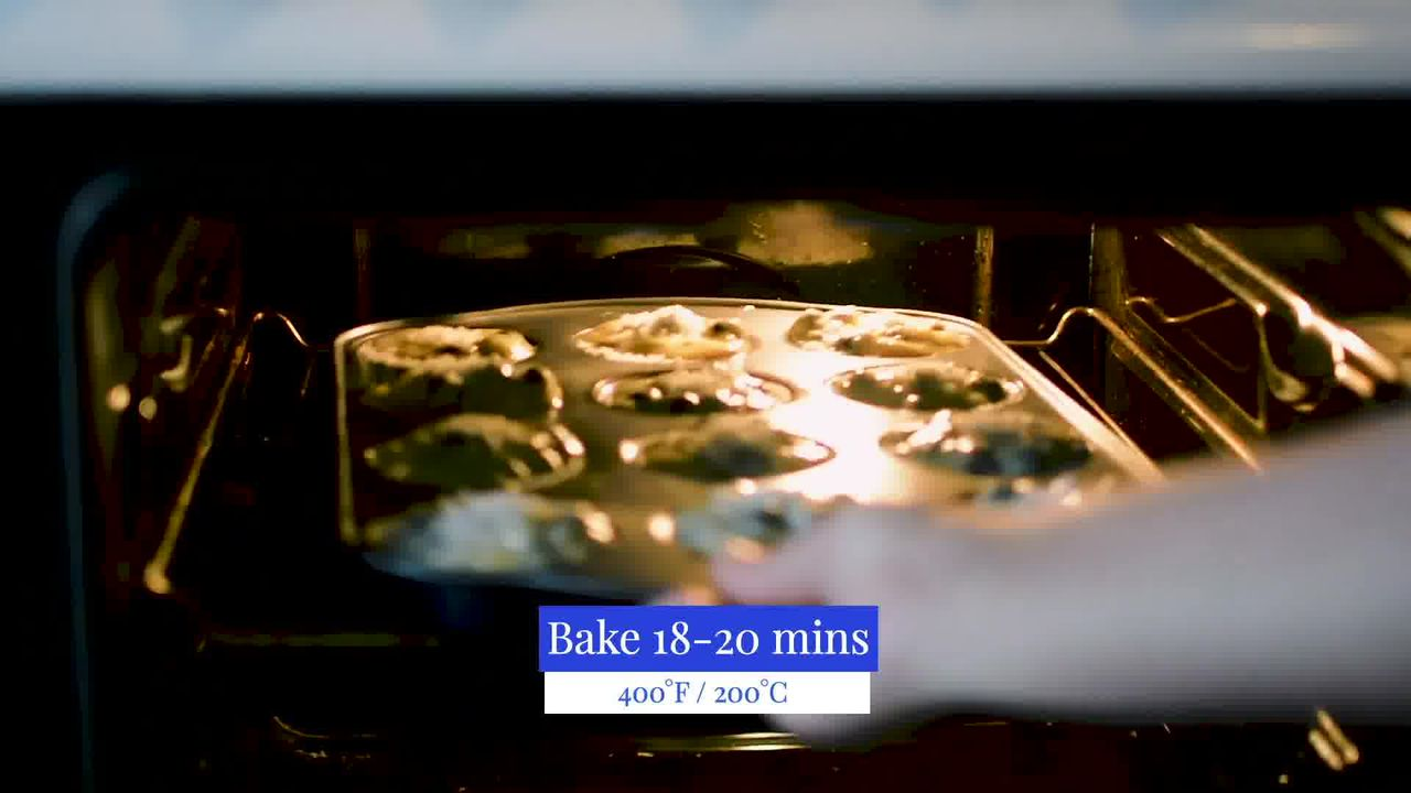 Image of the cooking step-3-4 for Quick and Easy Blueberry Muffins Recipe