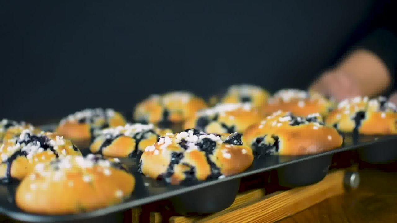 Image of the cooking step-3-5 for Quick and Easy Blueberry Muffins Recipe