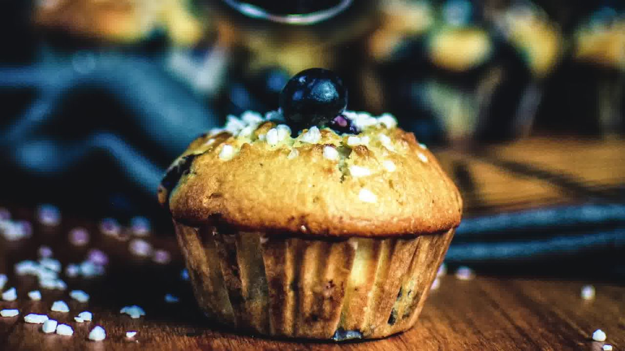 Image of the cooking step-3-6 for Quick and Easy Blueberry Muffins Recipe