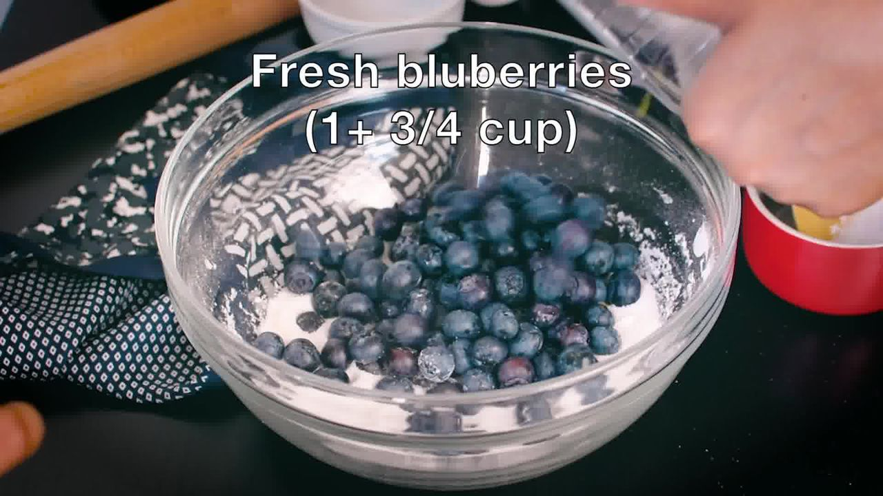 Image of the cooking step-2-2 for Blueberry Pie Recipe
