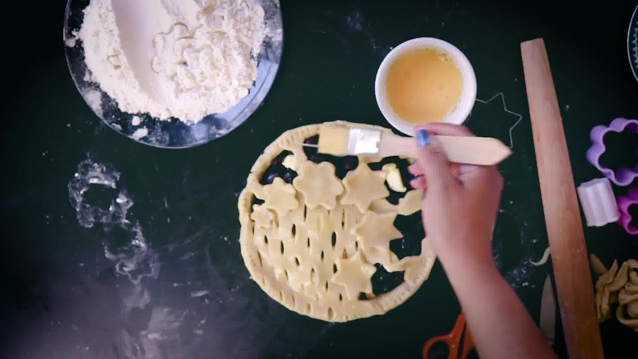 Image of the cooking step-5-2 for Blueberry Pie Recipe