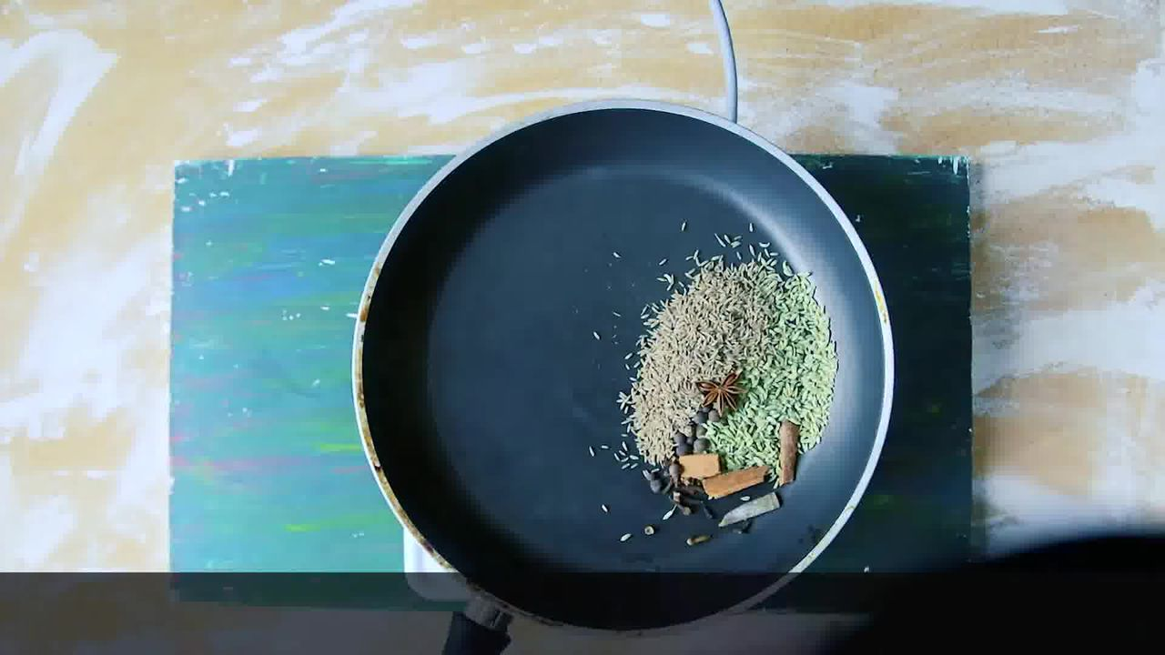 Image of the cooking step-1-1 for Bombay Vegetable Sandwich Recipe