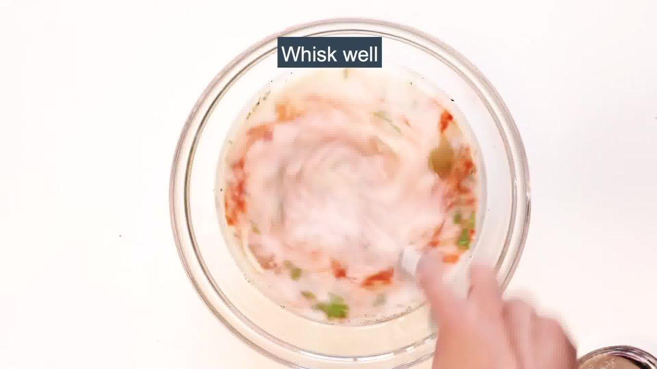 Image of the cooking step-2-4 for Boondi Raita Recipe - How to make Boondi ka Raita