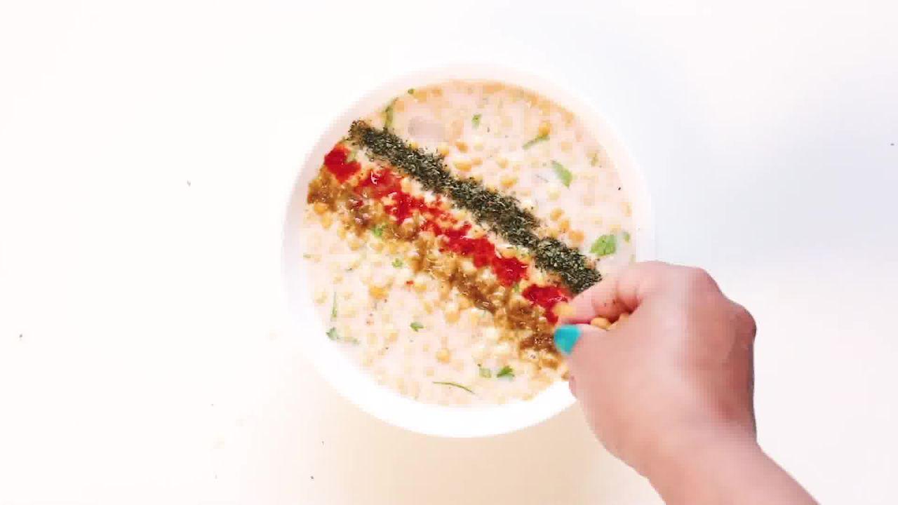 Image of the cooking step-3-1 for Boondi Raita Recipe - How to make Boondi ka Raita