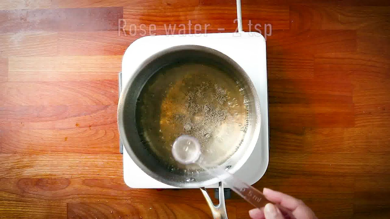 Image of the cooking step-2-3 for Bread Gulab Jamun Recipe - Instant Bread Gulaab Jamun