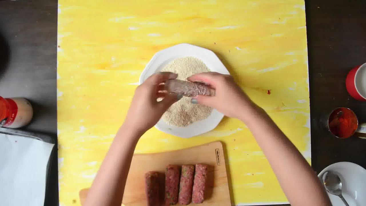 Image of the cooking step-1-5 for Broccoli Beet Crispy Fingers (Croquettes) - Video Recipe