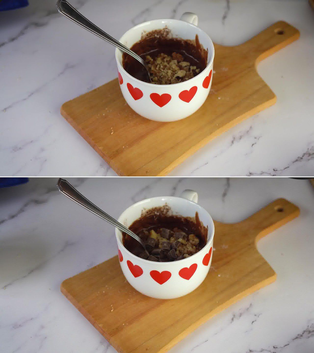 Image of the cooking step-1-3 for Brownie in a Mug