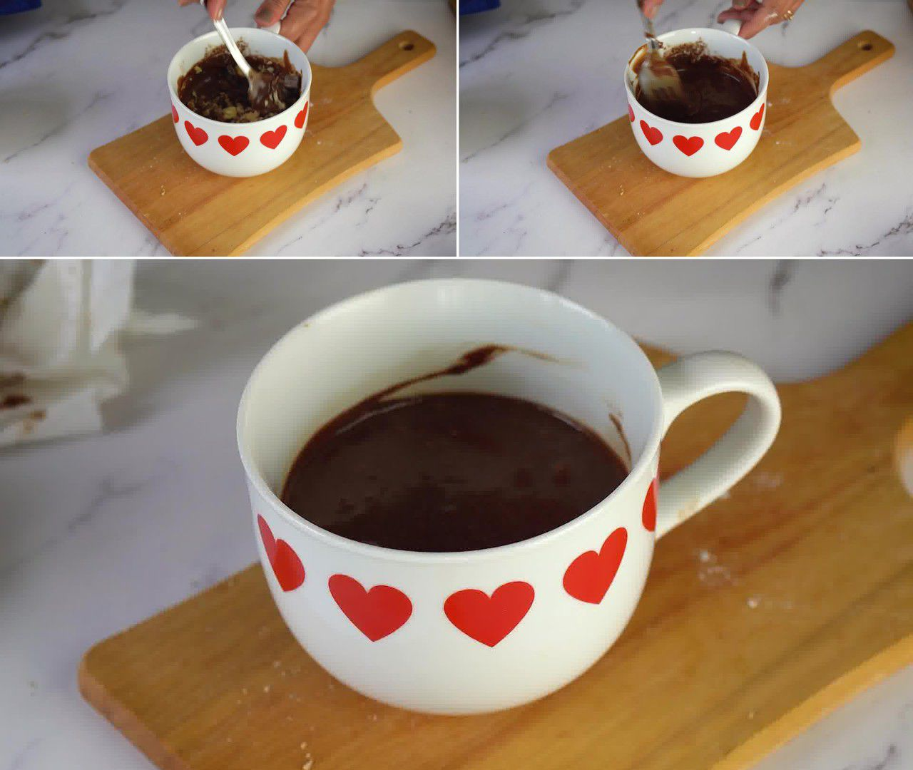 Image of the cooking step-1-4 for Brownie in a Mug