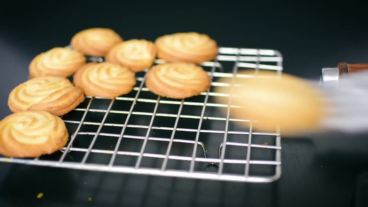 Image of the cooking step-1-11 for Butter Cookies - Eggless Butter Biscuit - Piped Cookies