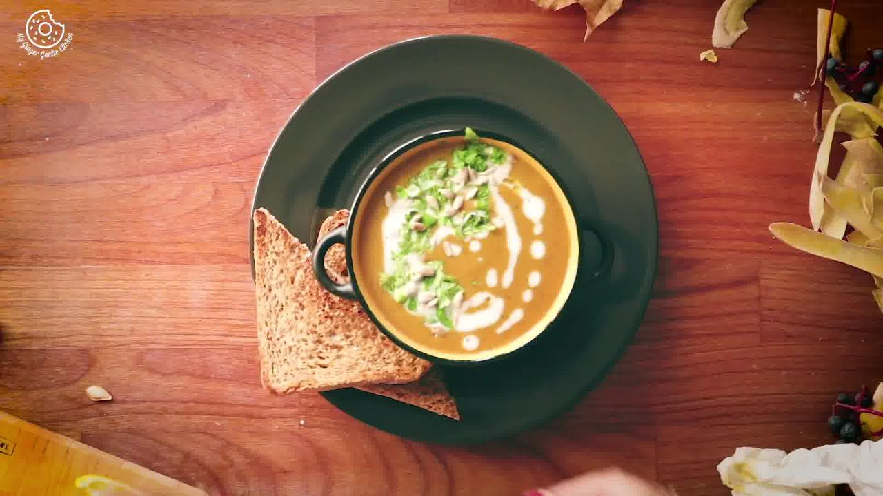Image of the cooking step-1-17 for Butternut Squash Soup Recipe [Vegan | Gluten Free]