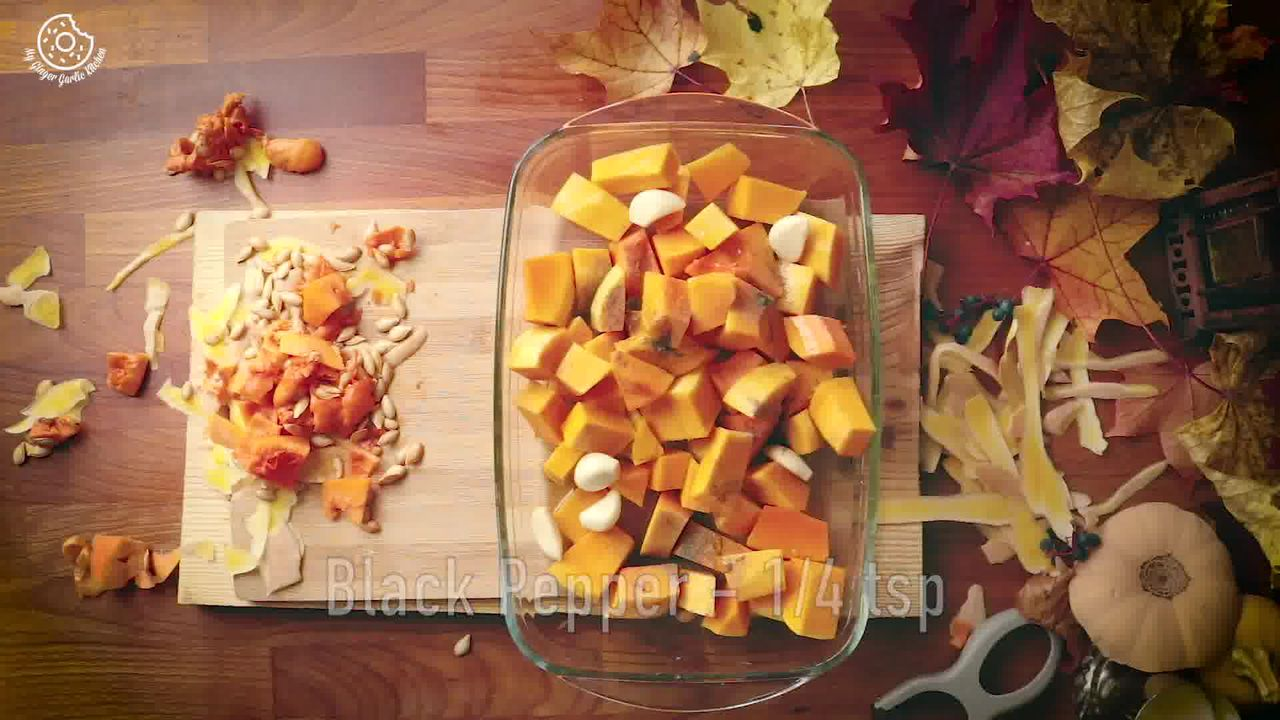 Image of the cooking step-1-2 for Butternut Squash Soup Recipe [Vegan | Gluten Free]