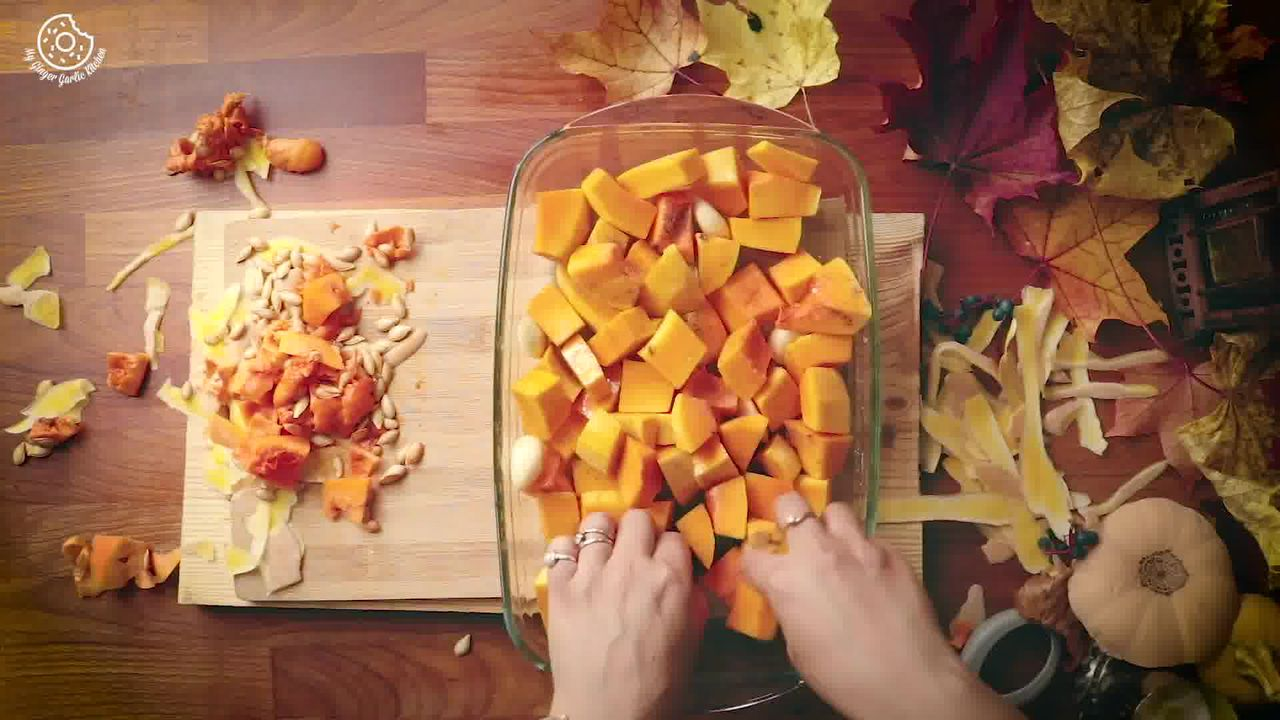 Image of the cooking step-1-3 for Butternut Squash Soup Recipe [Vegan | Gluten Free]