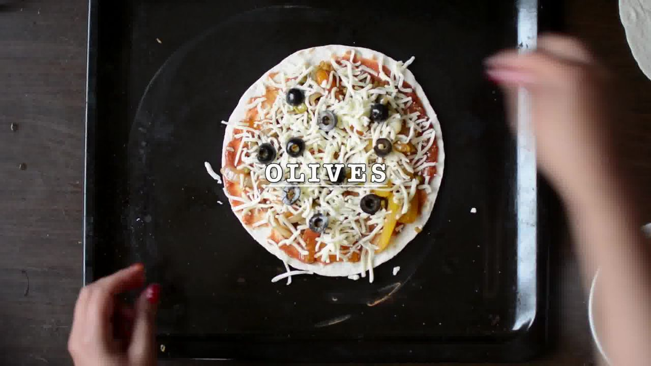 Image of the cooking step-3-4 for Tortilla Pizza Caramelized Veggie Tortizza (2 ways)