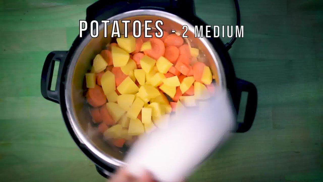 Image of the cooking step-1-3 for Instant Pot Carrot Potato Soup