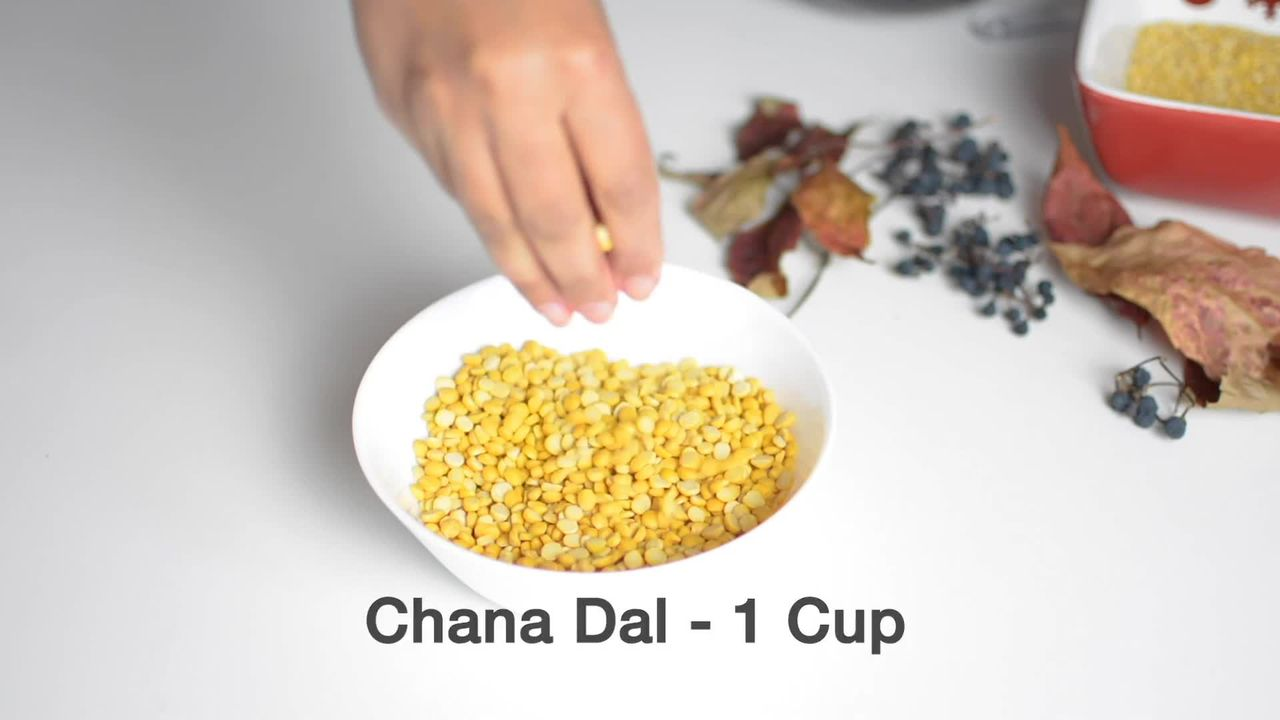 Image of the cooking step-1-1 for Chana Dal Namkeen - Crunchy Split Bengal Gram Snack