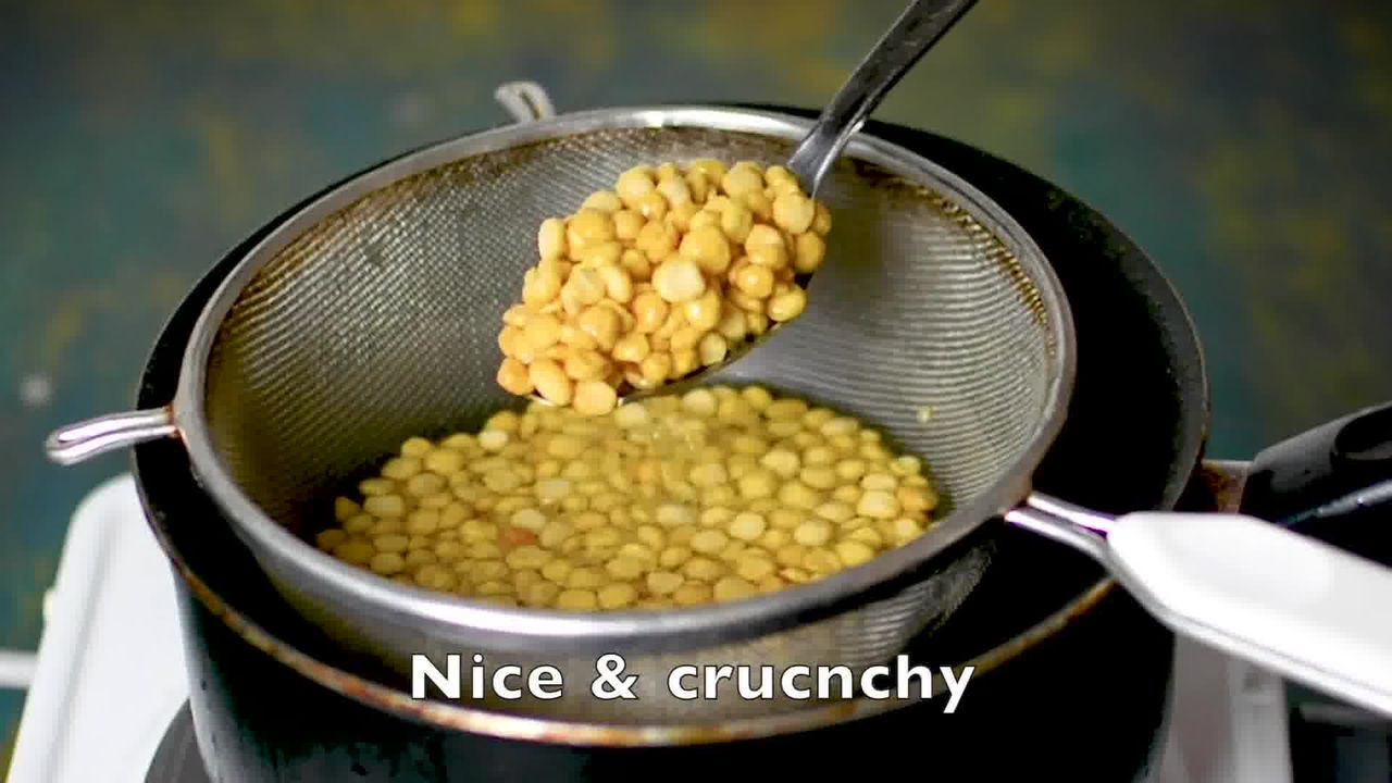 Image of the cooking step-2-3 for Chana Dal Namkeen - Crunchy Split Bengal Gram Snack