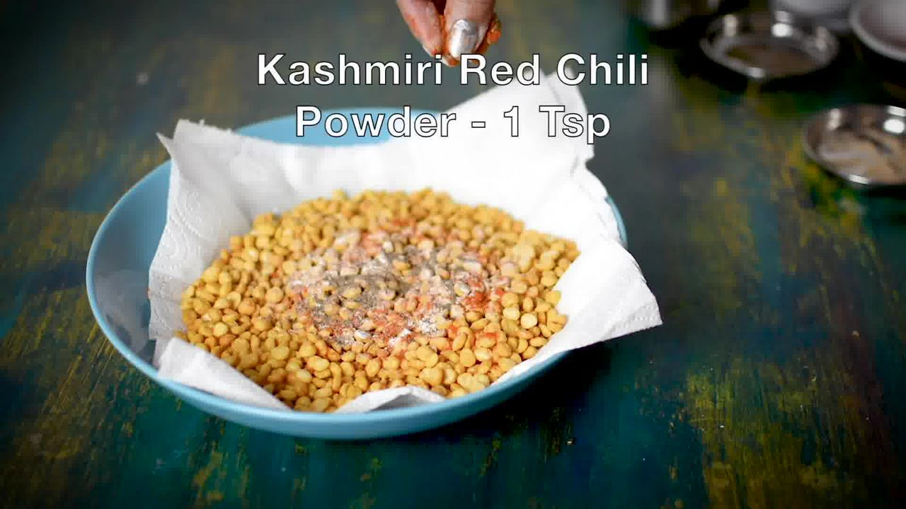 Image of the cooking step-2-5 for Chana Dal Namkeen - Crunchy Split Bengal Gram Snack